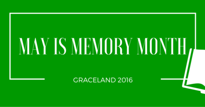 May is Memory Month image