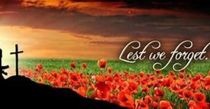 November 8, 2020  Remembrance Service