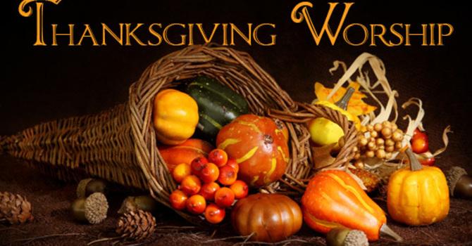 Thanksgiving Service October 11, 2020