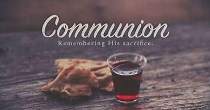 Communion Service October 4, 2020