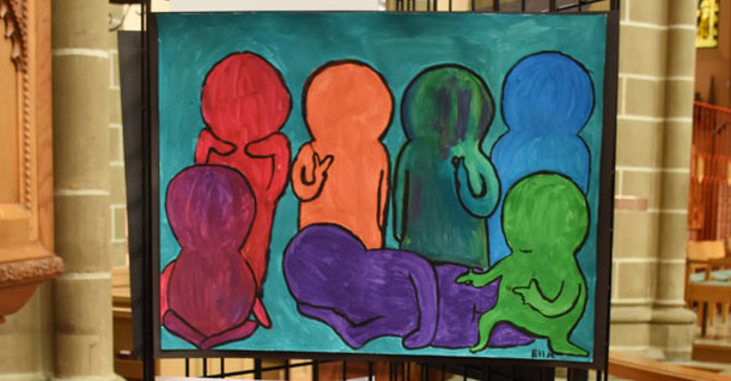 Still Time to Visit the Reconciliation Youth Art Display image