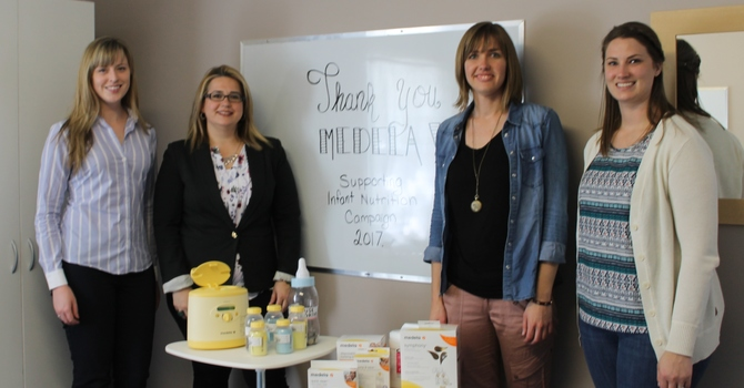 Medela Visits Ramoth To Launch Our Annual Baby Bottle Fundraising image
