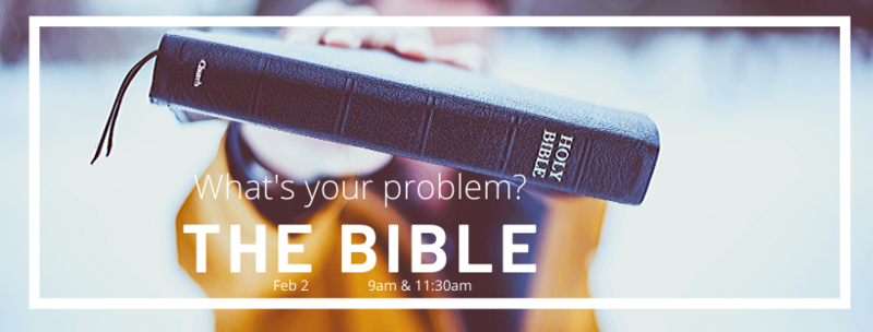 The problem of the Bible