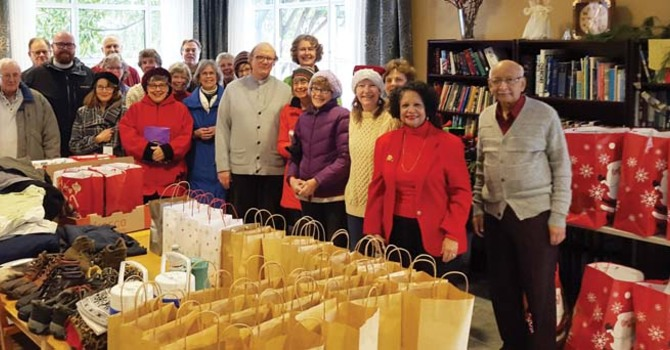 Anglican Neighbourhood Ministry Brings Christmas to the Homeless image