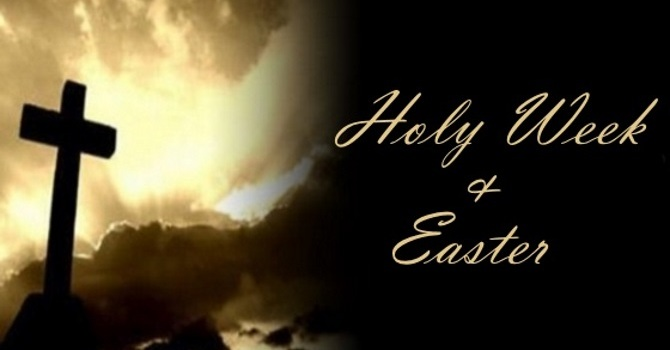 Holy Week and Easter Services image