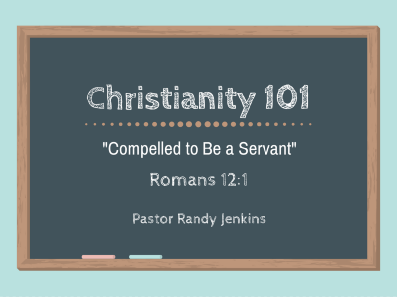 Compelled to Be a Servant