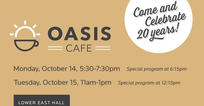 Oasis Café Celebrates 20 Years! image