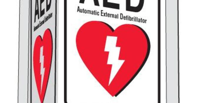 **UPDATE** RESCHEDULED: AED Training image