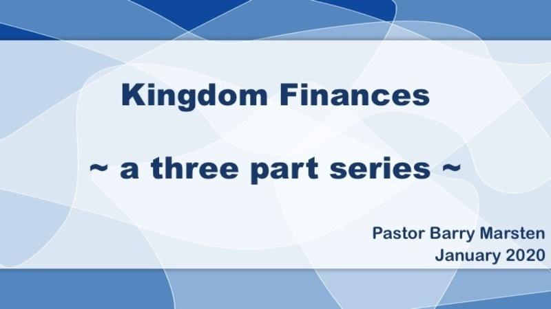 Kingdom Faithfulness