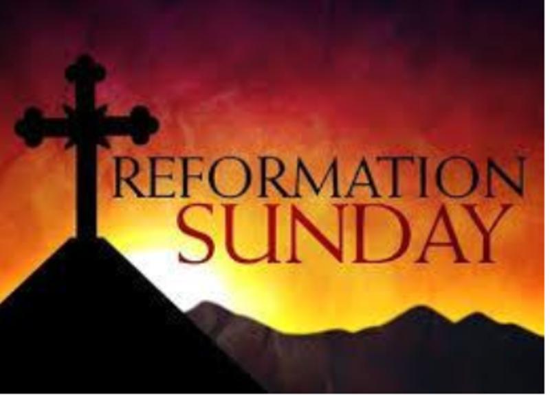 Reformation Sunday Relentless Reformers