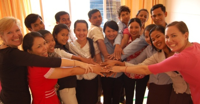 Missions Monday:  Joining Hands in Cambodia image