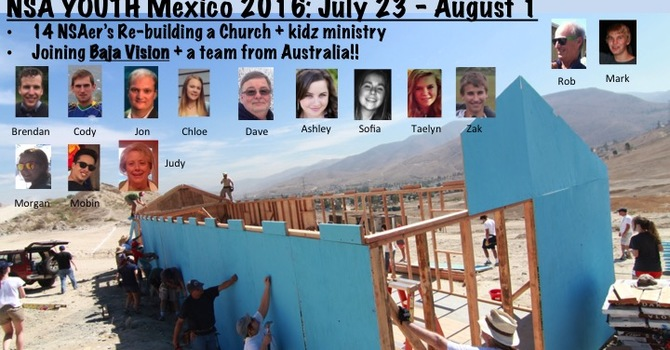 NSAC 2016 SUMMER MEXICO MISSIONS TEAM image