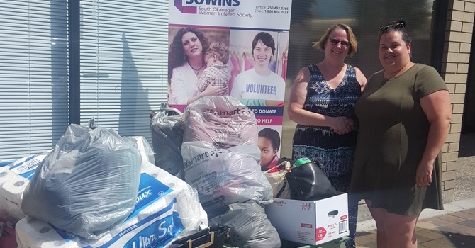 SOWINS Donations Delivered! image