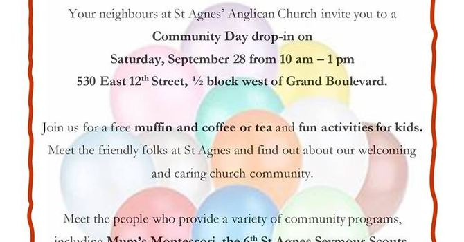 St Agnes' Community Day