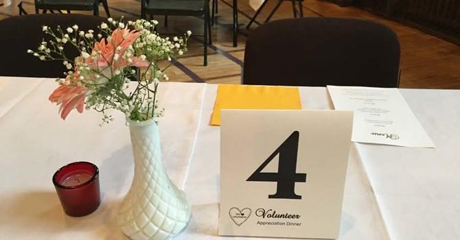 Volunteer Appreciation Dinner at St. Paul's