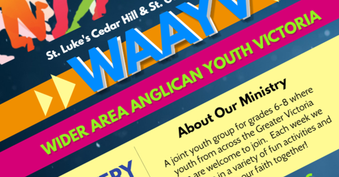 WAAYV (Wider Area Anglican Youth Victoria)  image