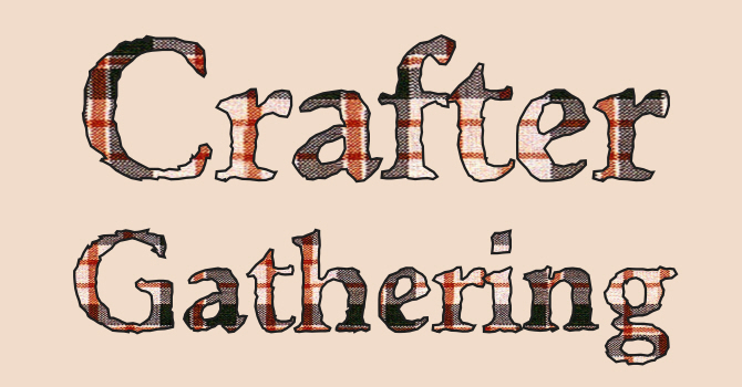 QUILTERS, KNlTIERS, CRAFTERS image