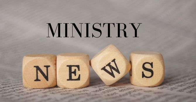 Ministry News image