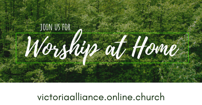Join us for Worship at Home Sunday! image