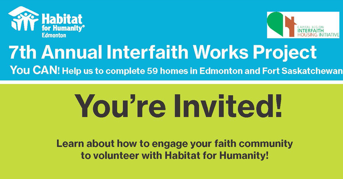 Habitat-Interfaith Works Project Info Nights