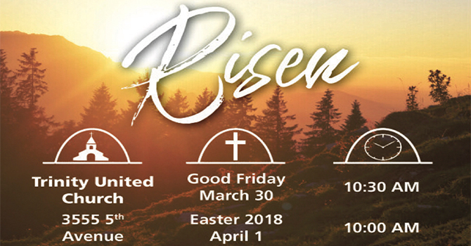 Good Friday and Easter 2018 image