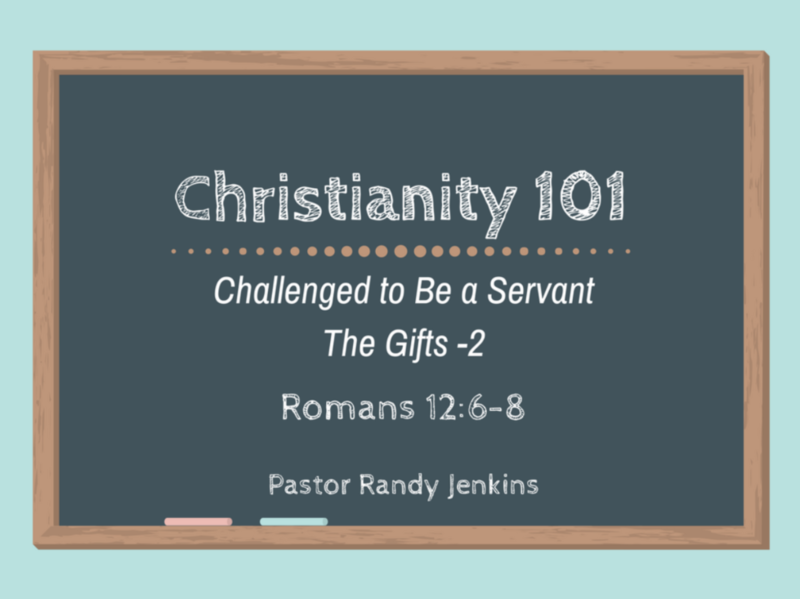 Challenged to Be a Servant