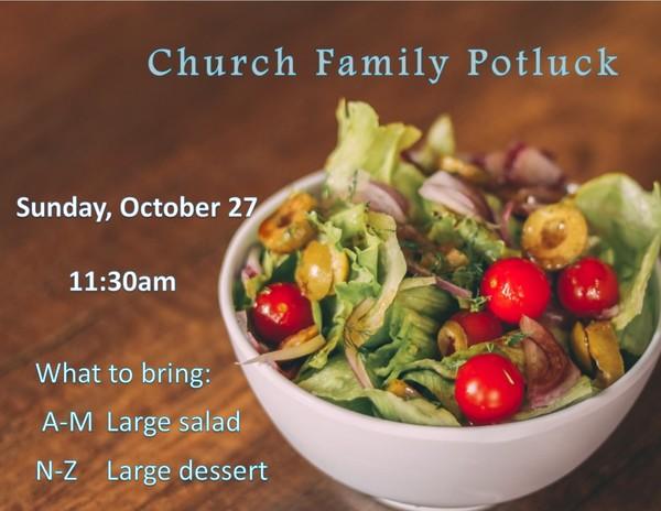 Church Family Potluck