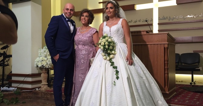 Daniel ties the knot!  image