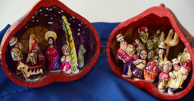 St. John's Squamish - Nativity Set Display image