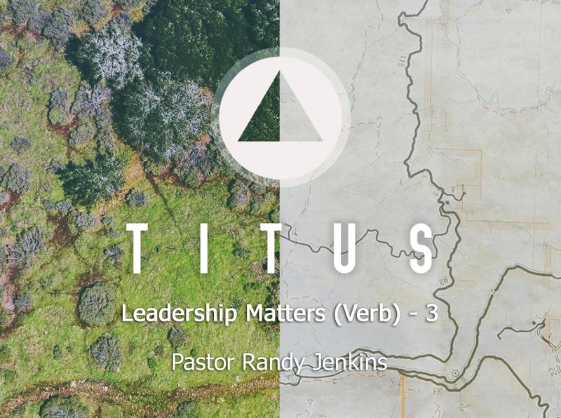Leadership Matters (verb)