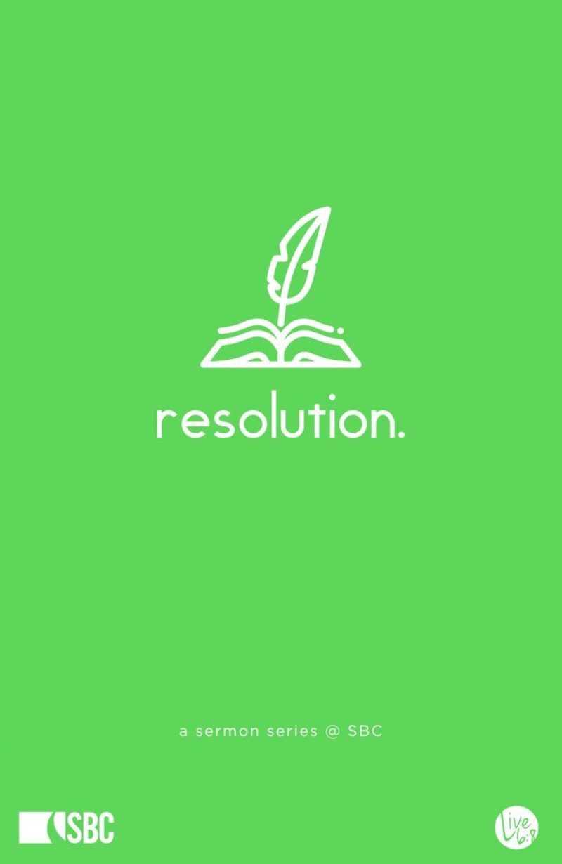 Resolution #1: A Surrendered Life