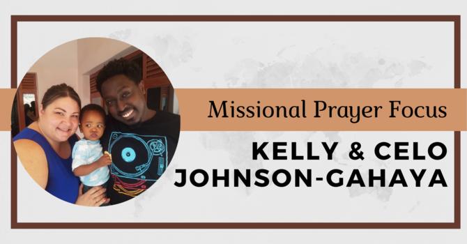 Kelly and Celo Johnson-Gahaya image