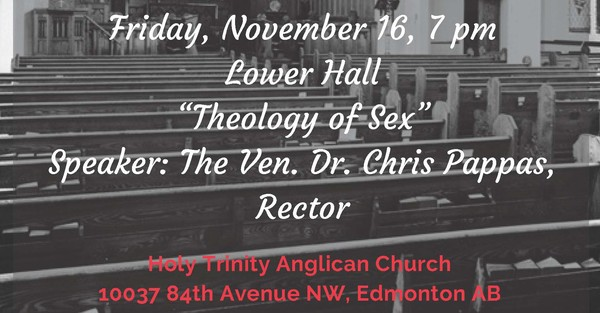 """""""Theology of Sex"""" with the Ven. Dr. Chris Pappas"""