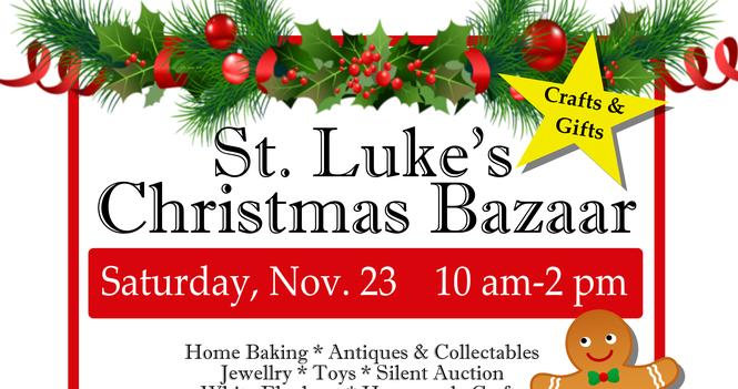St. Luke's Christmas Bazaar