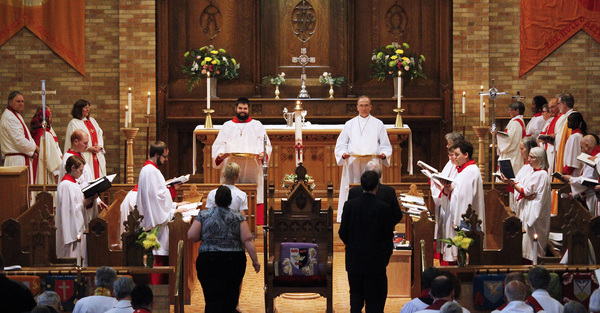 Holy Cross Day Ordination Service