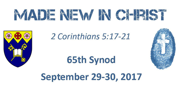 Registration and Nominations for 65th Synod
