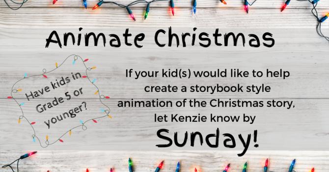 Kids at Lambrick - Animate Christmas image