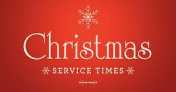 All Saints, Mission - Christmas Services 2017 image