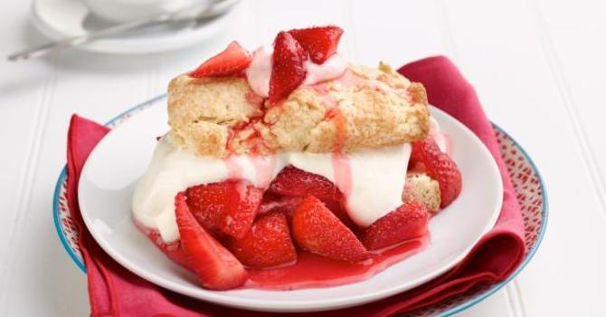 Strawberry Tea & Bake Sale