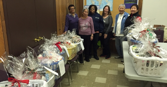 """Outreach Team joins the """"Basketeers!"""" image"""