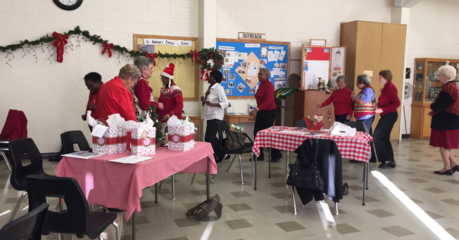 Ladies Lunch and Learn Christmas image