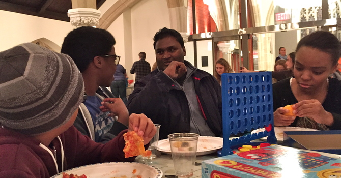 Youth group travels to Diocesan service image