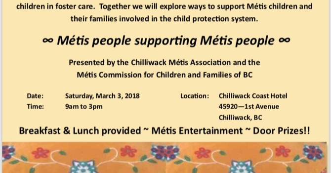 Métis Children and Youth Community Caring Forum