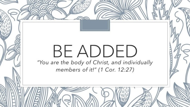 Be Added