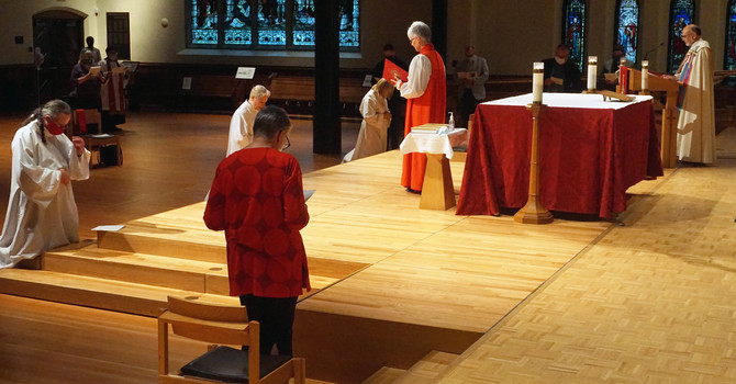 Ordinations on the Feast of Bernard Mizeki (transferred)