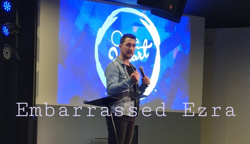 Embarrassed Ezra