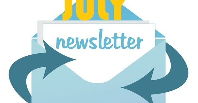 July Parish Newsletter image