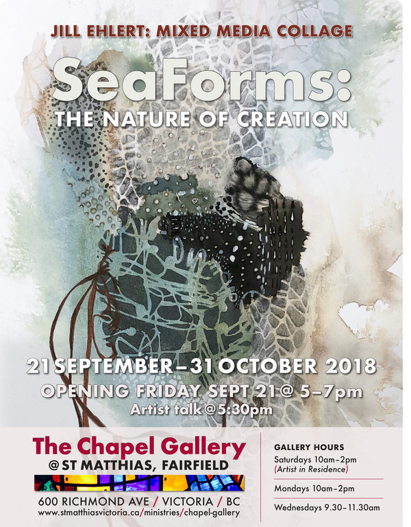 Chapel Gallery Grand Opening - SeaForms:  The Nature of Creation