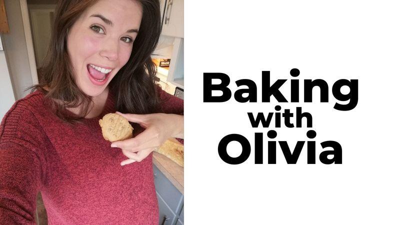 Baking with Olivia