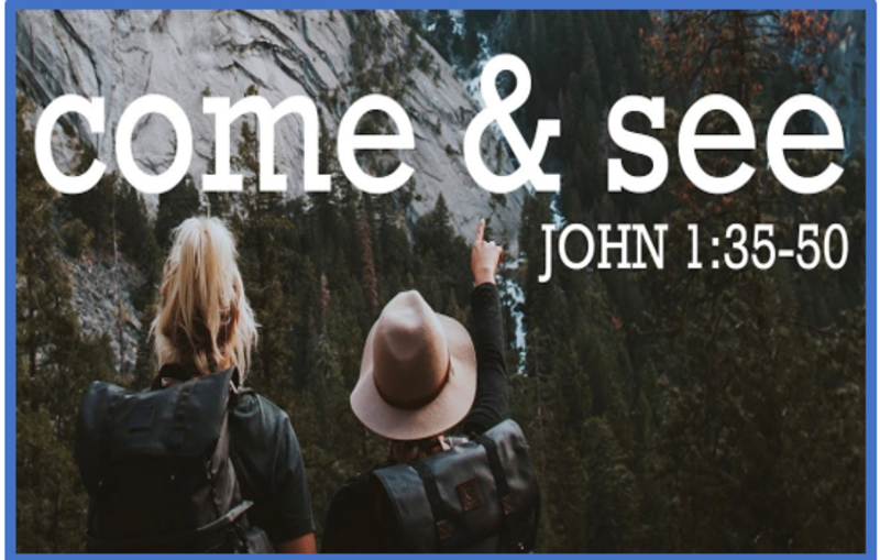 Big Questions Jesus Asked - What are you looking for? (S)